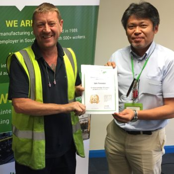 20 years service