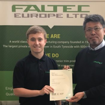 BTEC Level 4 Higher National Certificate awarded
