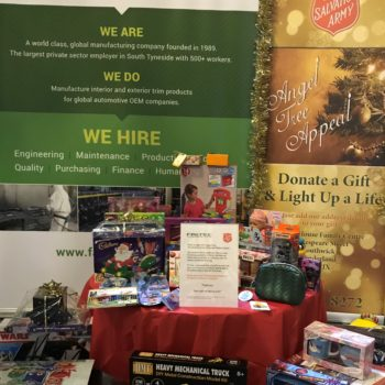 Supporting The Salvation Army at Christmas
