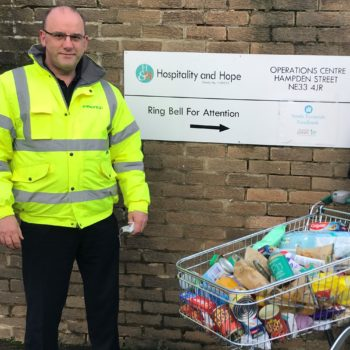 Working within the community at Christmas